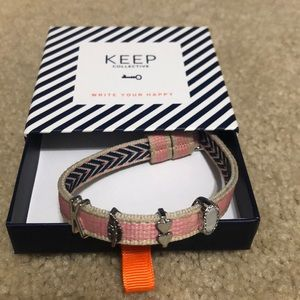 Keep Collective bracelet and charm bundle